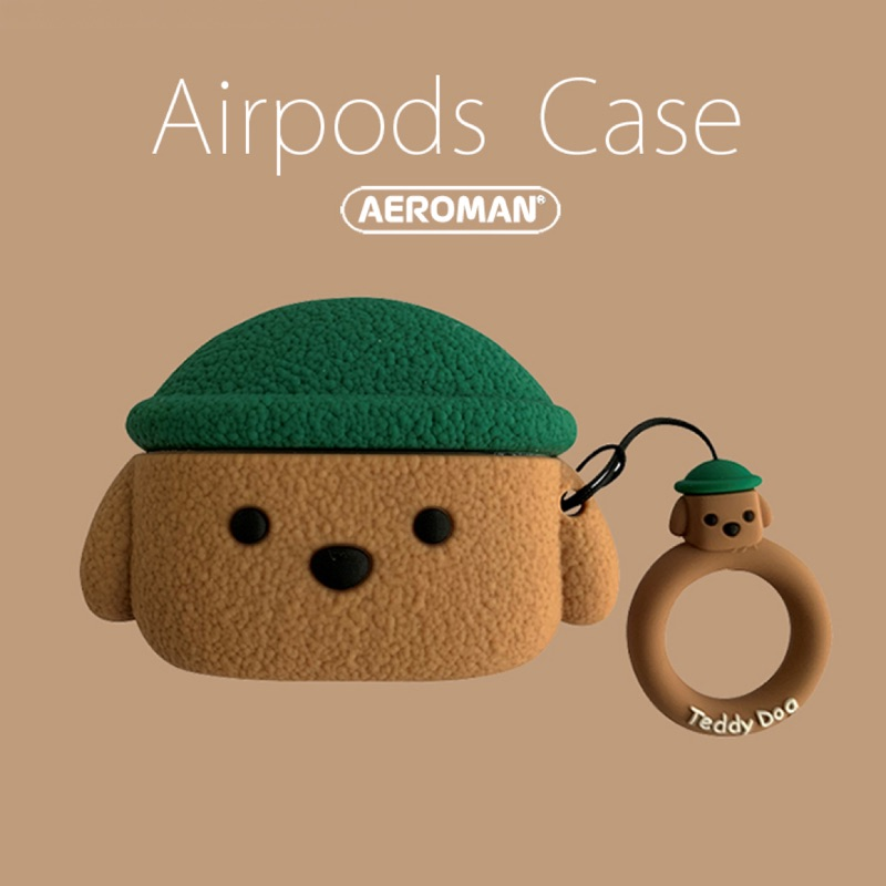 airpods pro 3代 保護套 泰迪狗 Teddy dog 泰迪熊 貴賓狗 貴賓 紅貴賓 科基 柴犬 1 2代