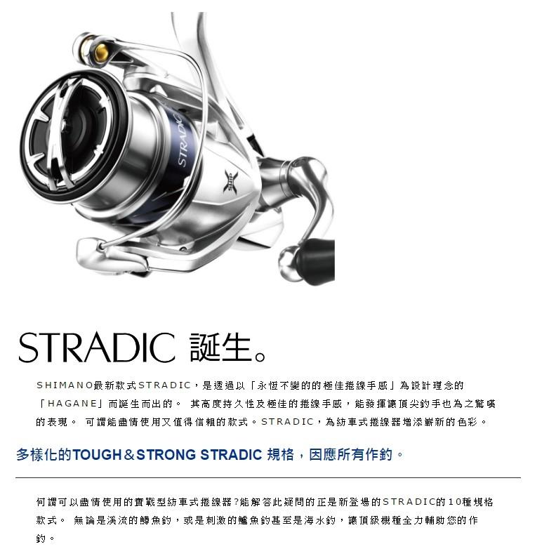 《路亞魂》SHIMANO 美規版STRADIC 1000/2500/3000/4000/5000
