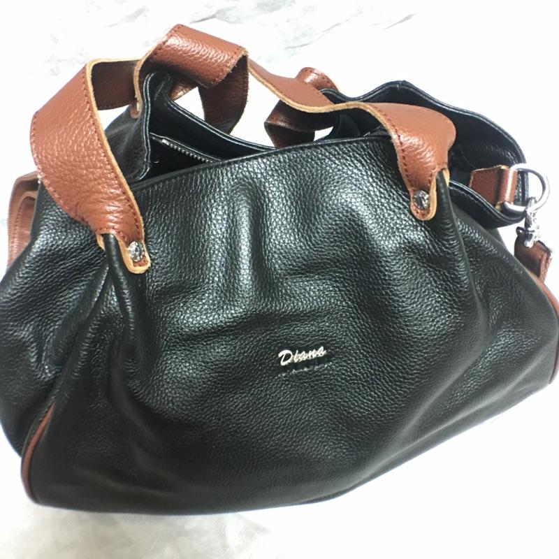 專櫃牛皮Diana包包