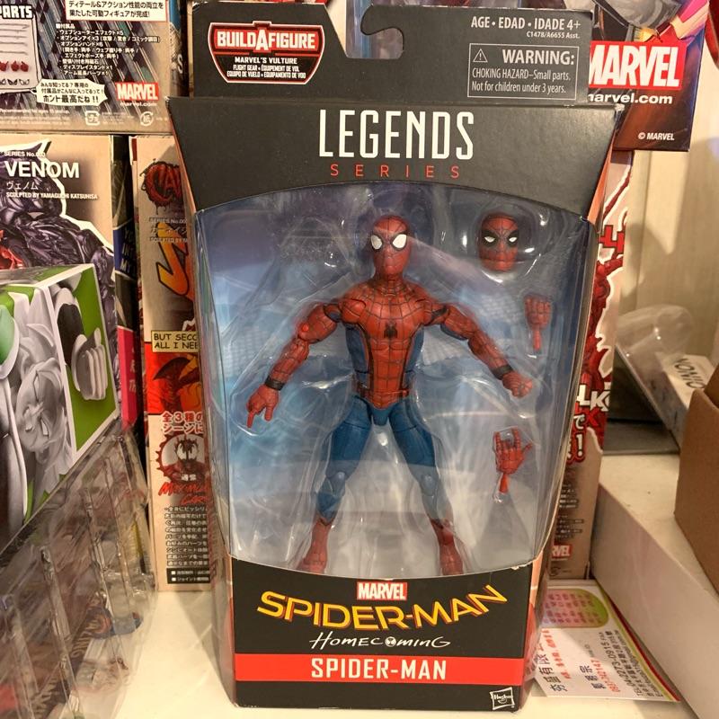 Marvel Legends 漫威 6吋 返校日 蜘蛛人 Spider Man 孩之寶 僅取出Baf 本體全新未拆