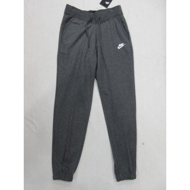 NIKE 女款灰色縮口針織長褲-NO.807799071