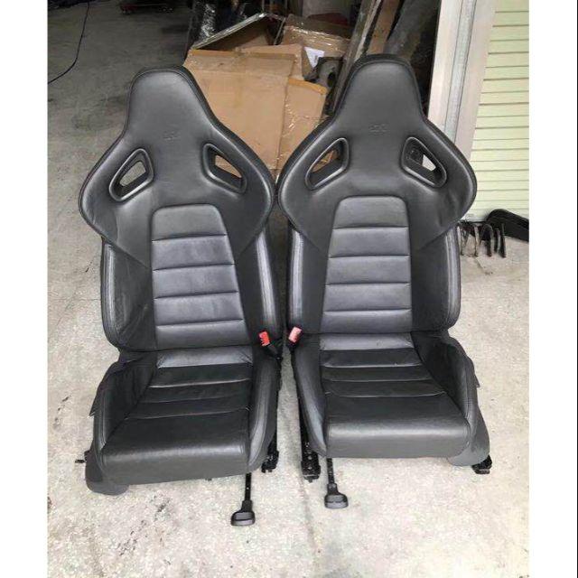 拆車福斯 VW GOLf R蝴蝶椅 賽車椅一對