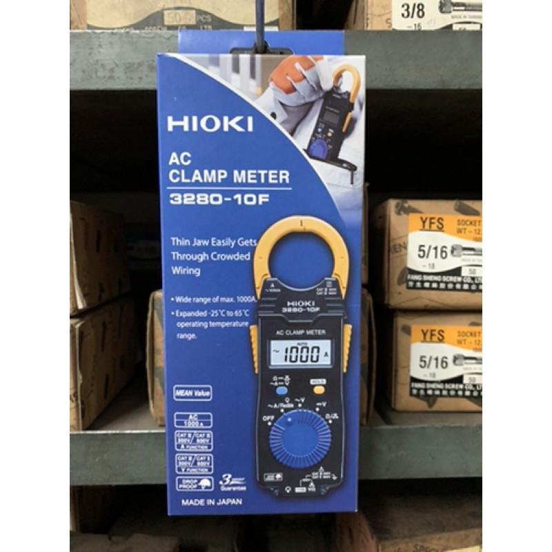 HIOKI3280-10F鈎錶㊣日本製公司貨㊣ 認明原廠碳棒 HIOKI 3280-10F 超薄型 鉤錶 交流 電表 電