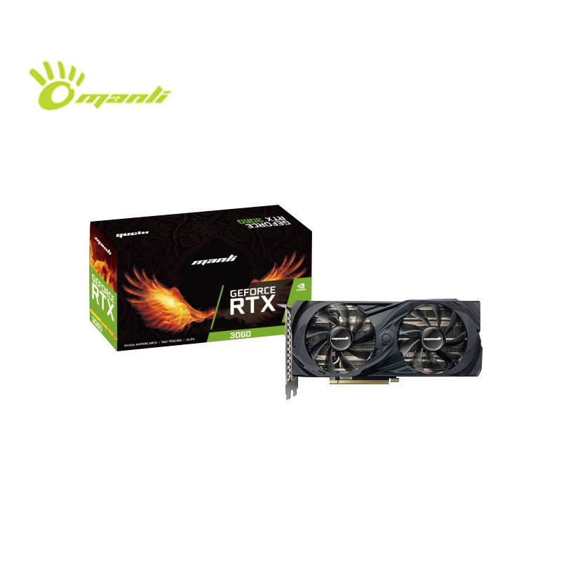 【假一賠二】萬麗 RTX3060 12G台式機電腦獨立遊戲顯卡RTX3060未鎖算力版本