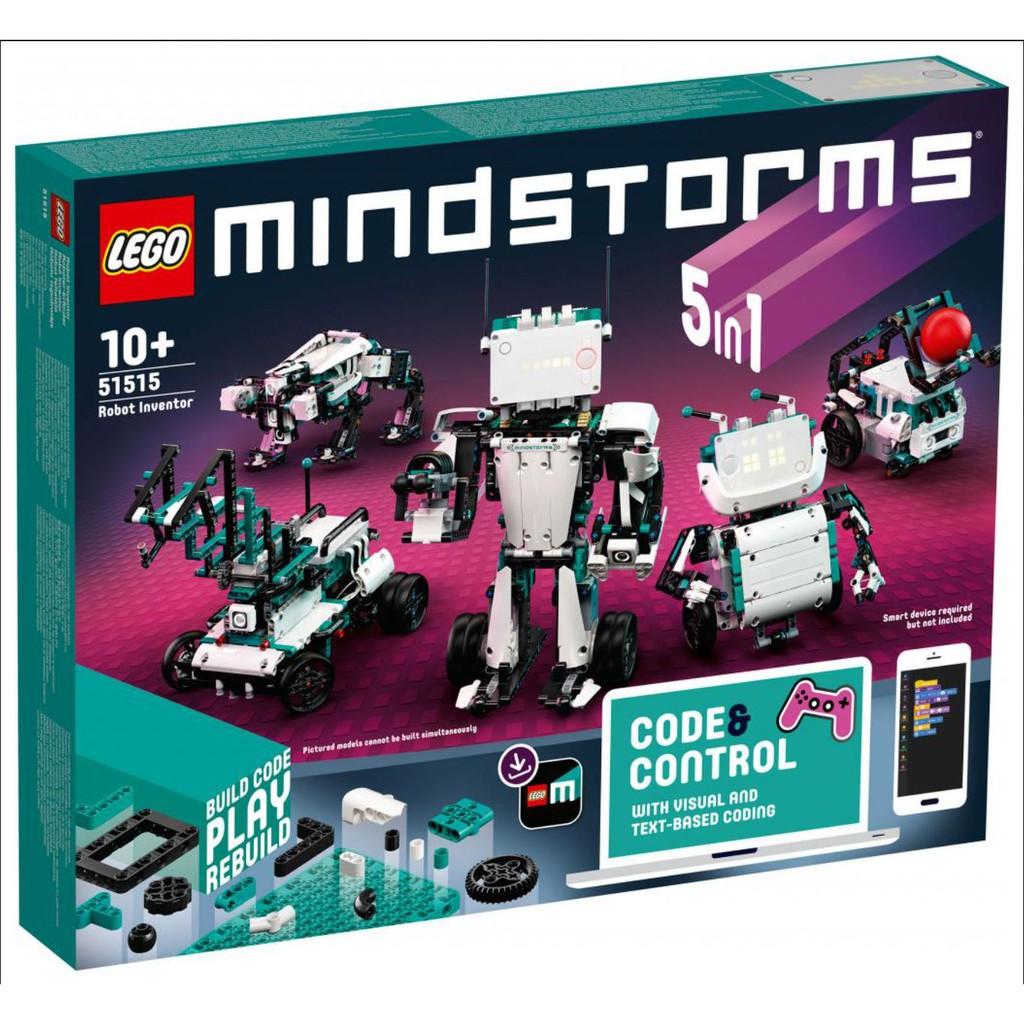 【暑假防疫良方】 LEGO 51515 樂高最新一代scratch機器人組《電積系》