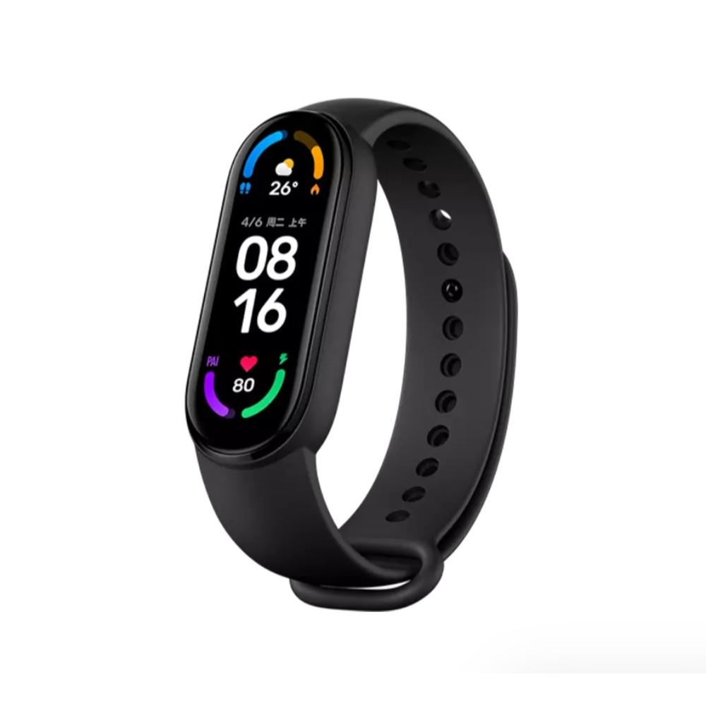 【小米粉】小米手環6 NFC版 黑色 台灣保固一年 智能手環 磁吸充電 監測心率 手錶 米家