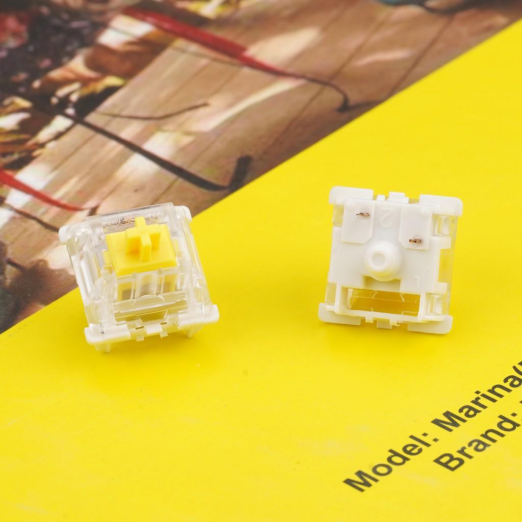 ▶機械◀新品G黃G紅pro gateron黃軸pro機械鍵盤軸體線性手感自潤▶◀