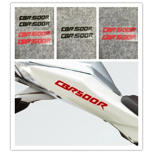 HONDA CBR500R 本田摩托車車身外殼標誌貼 油箱整流罩貼紙 反光裝飾貼花