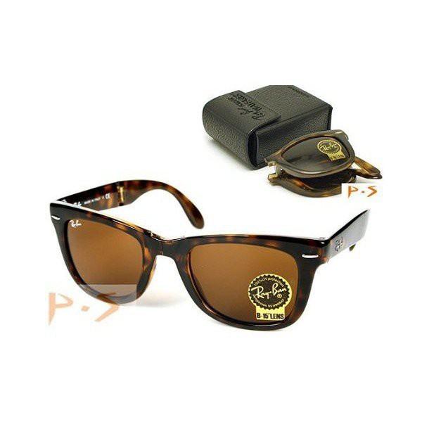 RayBan 太陽眼鏡 RB4105 710 玳瑁色 rb2140折疊款-比2140更適合亞洲人*
