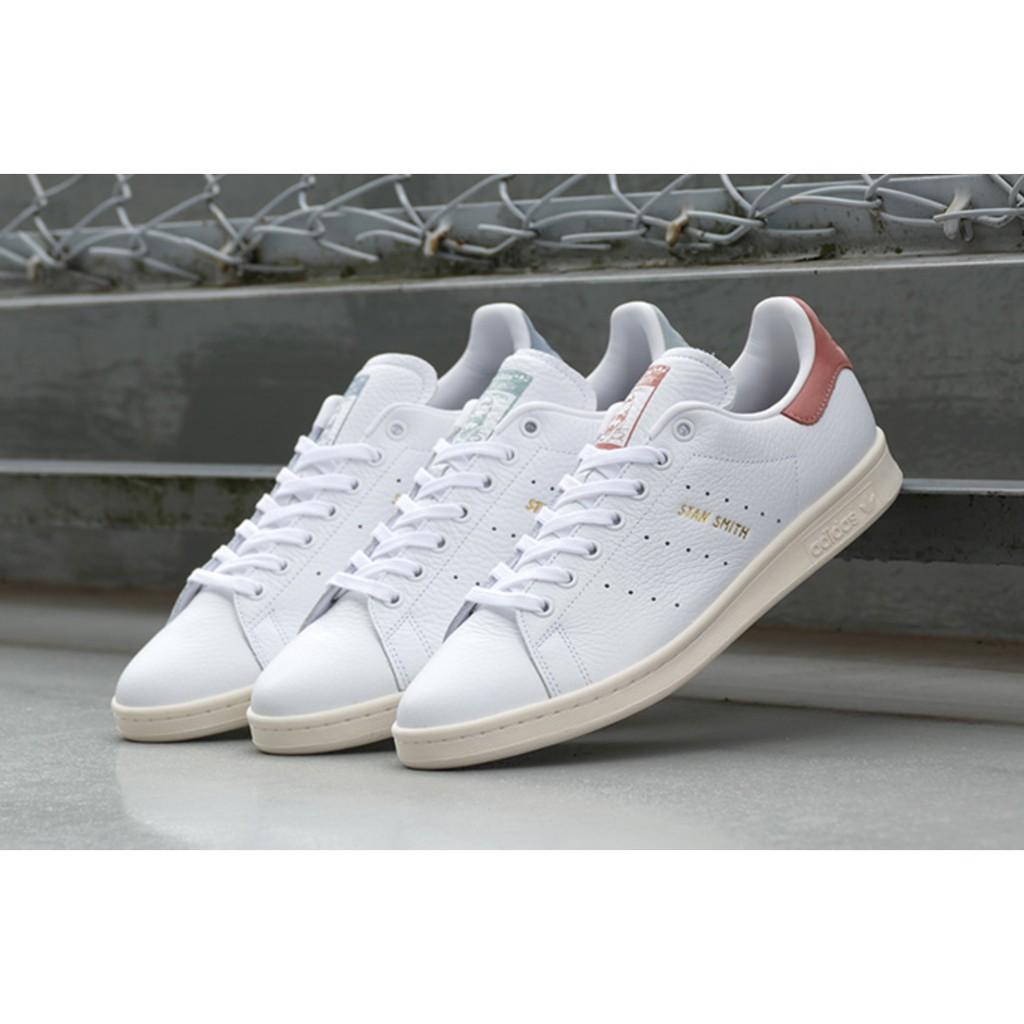 promo code 8804d b2033 ADIDAS Originals STAN SMITH 板鞋 金邊 粉CP9702 藍-CP9702 綠-BZ0470