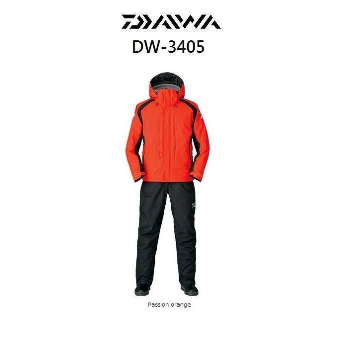 源豐釣具 (特價出清+免運) DAIWA DW-3405 防寒釣魚雨衣套裝 XL號 保暖鋪棉 釣魚套裝 雨衣