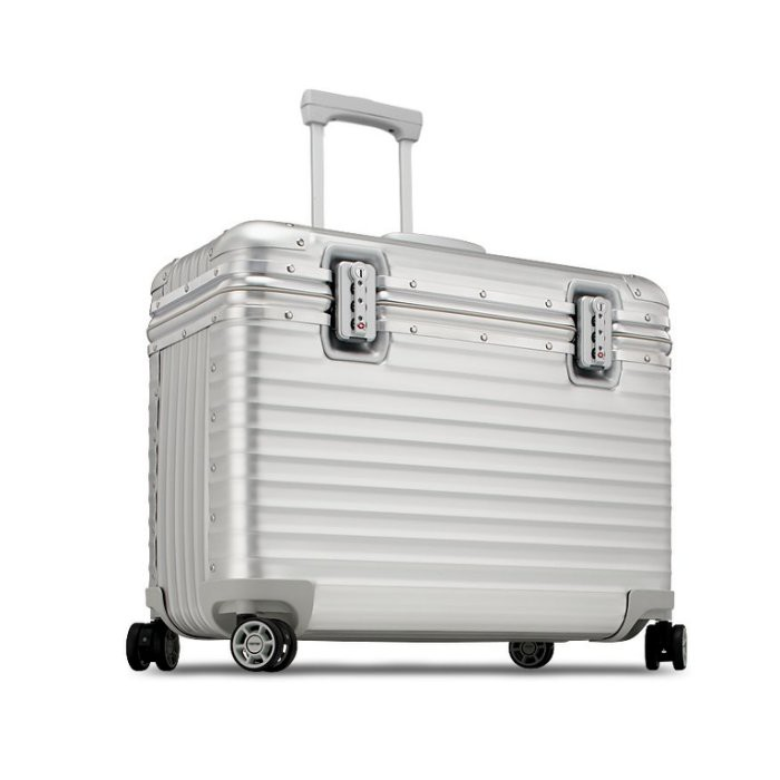全新RIMOWA PILOT Business 鋁鎂合金 兩輪商務登機箱/機長箱/相機箱/行李箱.20吋