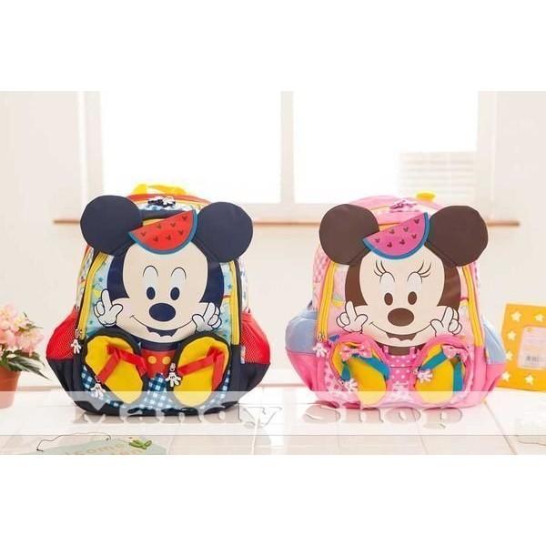 mandyshop【M2665】㊣ Disney / 迪士尼米奇造型兒童背包 / 兒童書包