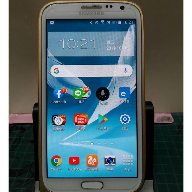 三星Samsung note2 n7100 中古機 二手機