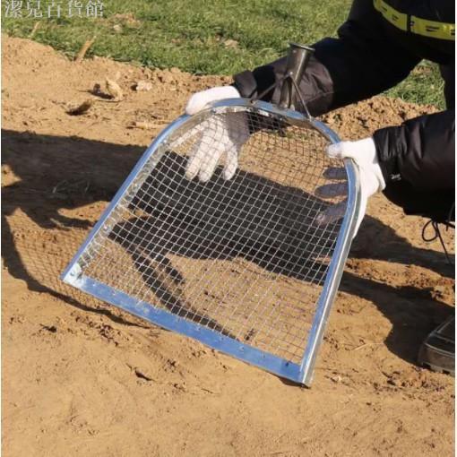 潔兒*#園藝篩土篩子 #不銹鋼304過濾鐵絲網長方形大孔農用篩沙子石子種花