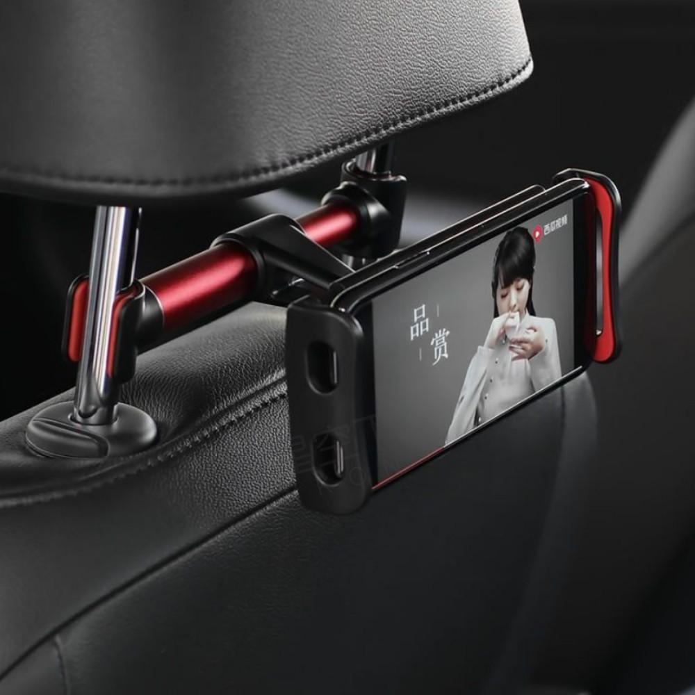 [多款可選]155汽車後座椅背平板手機支架 360度自由調整 平板車架 平板支架 手機架 汽車後座手機支架 可伸縮調節