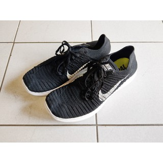 Nike Free RN Flyknit Run 5.0 赤足 黑白 飛線編織 831069-001 US12 大尺碼 台中市