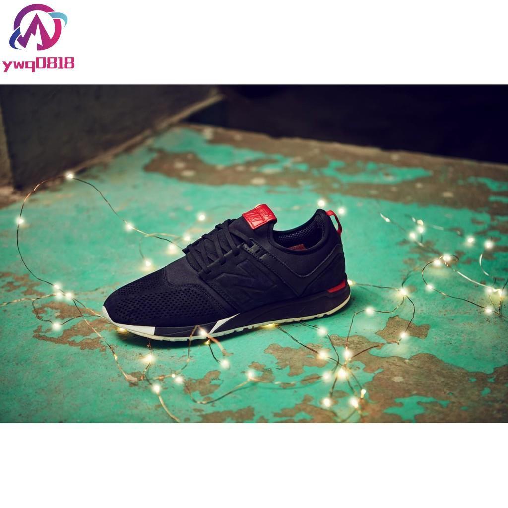 【YWQ】NEW BALANCE MRL247CN 復古 慢跑鞋 中國 余文樂 狗年 新年 黑紅 男女