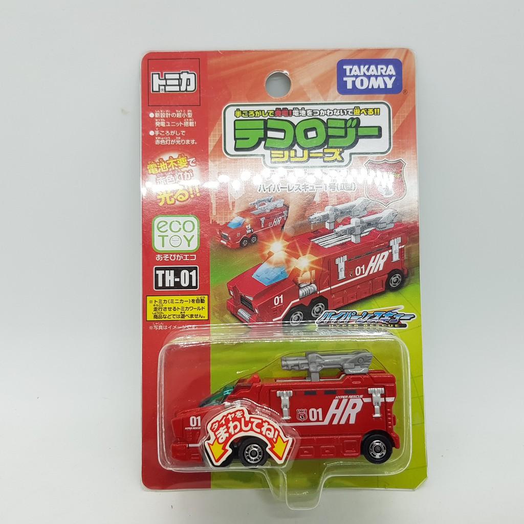 【小車停車場】TOMICA TH-01 TH01  發光車 HR 1號 II型