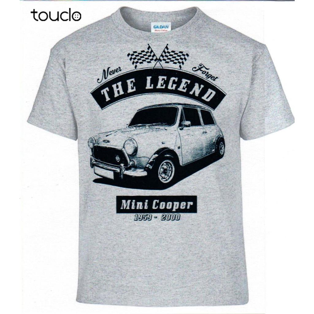 T恤,Mini Cooper德國車純棉男士T恤古典2019嘻哈街頭服飾個性化襯衫