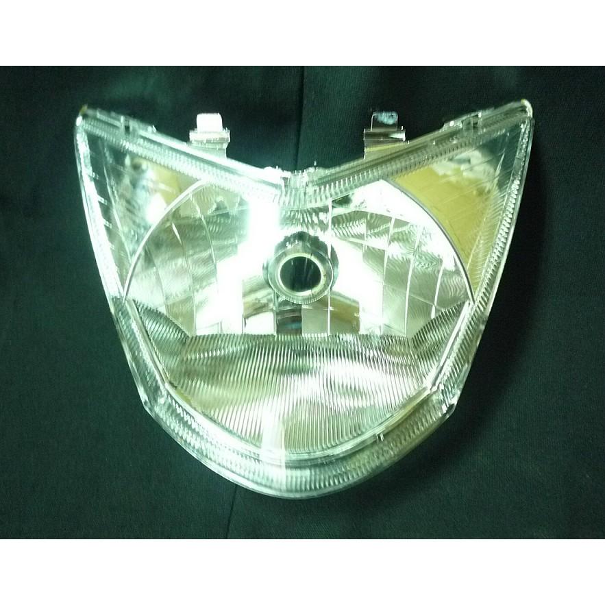 山葉 RSZ100 透明晶鑽大燈