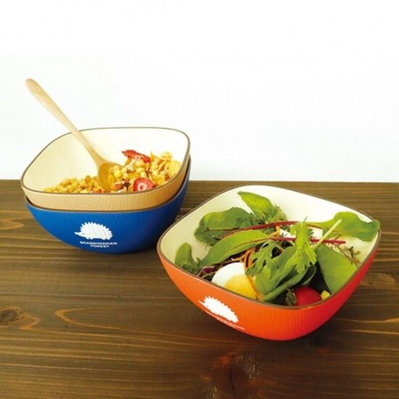 現貨 // 日本製 MOZ 北歐品牌 刺蝟造型碗 碗盤 餐具 餐碗 森林餐碗 刺蝟 野餐 紅/藍/拿鐵色