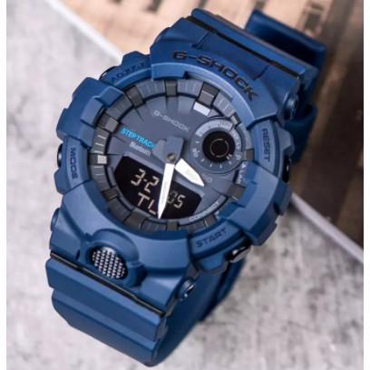 CASIO G-SHOCK 城市運動系列藍芽錶-藍  GBA-800-2A