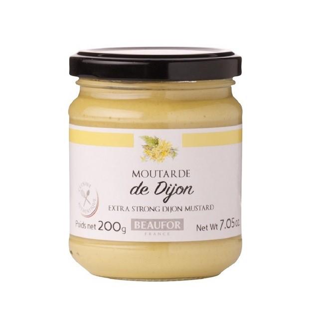 堡芙 BEAUFOR 法式芥末醬 DIJON 迪戎 芥末醬 芥茉醬 200g 進口食材