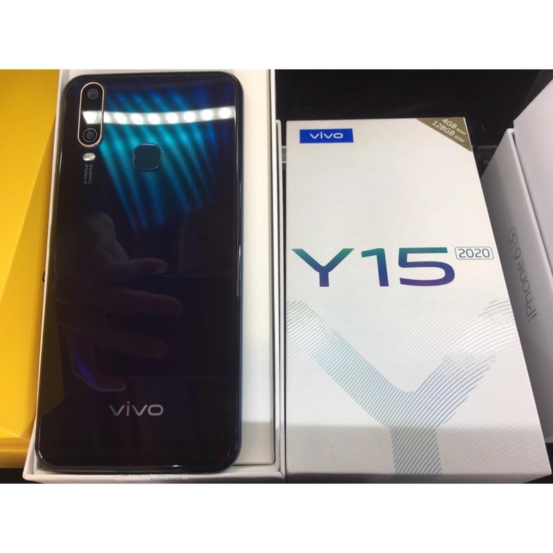 原廠保固VIVO Y15 黑2020 4G/128G 6.35吋八核心手機