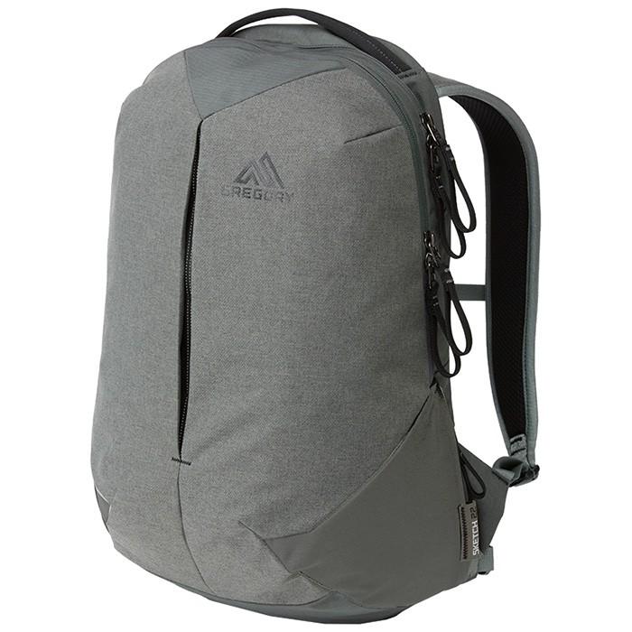 【Gregory 美國】SKETCH 22 UR 電腦背包 通勤後背包 雜灰色 (109451-6275)