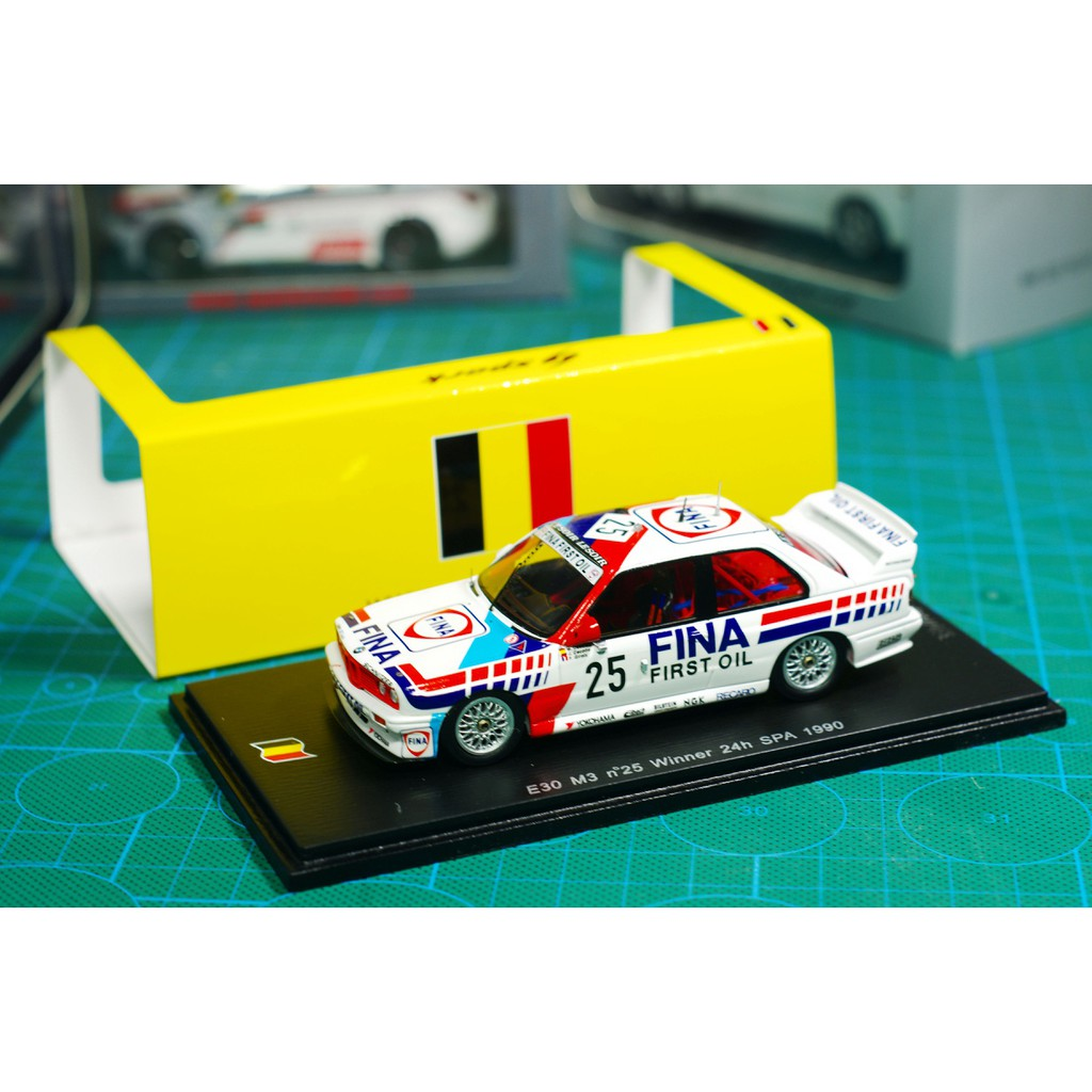 現貨SPARK模型 1/43 1990 SPA奪冠 寶馬BMW E30 M3 25#
