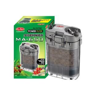 【AZ北高寵物】【免運】MR.AQUA多功能圓桶過濾 MA650 適合2尺以下 外置桶