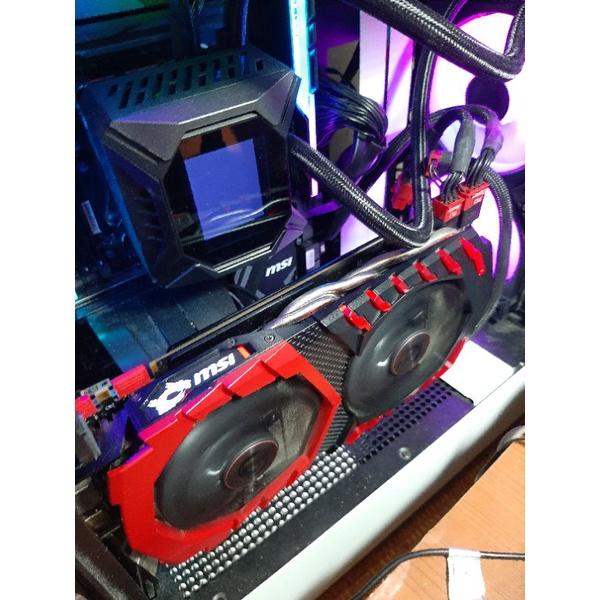 品項超優非礦MSI GTX 1070TI 8G Gaming 微星紅龍GTX1070TI 近效能GTX 1080