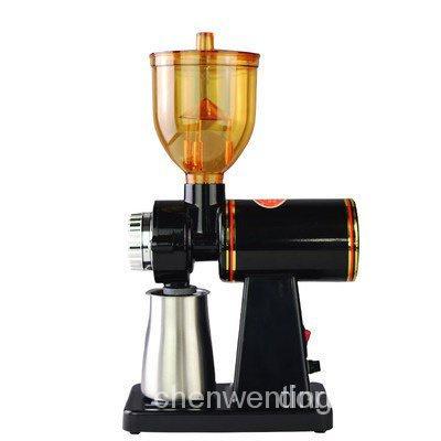 【現貨 咖啡機 】110V台灣小飛鷹電動咖啡磨豆機家用咖啡研磨器粉碎機可調粗細磨粉 eIWT vCav