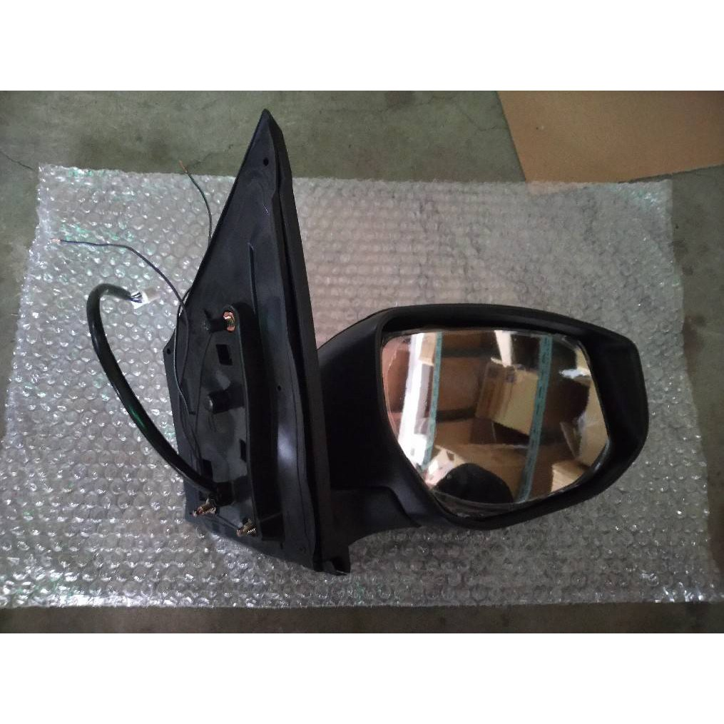 WR汽車零件~NISSAN BIG TIIDA 13- 電動手折 電折 有燈後視鏡 照後鏡
