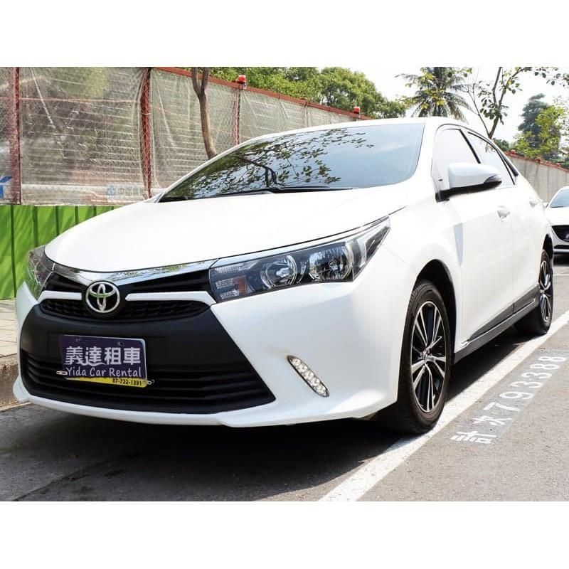 高雄租車義達租車Toyota Altis X勁化版~(另有禮車、長租、短租、5.7.9人座)~非Vios、Yaris