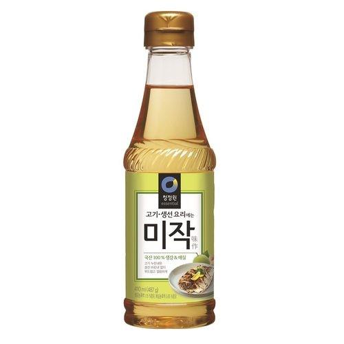 [清淨園] 生薑&梅子 味作 410ml [韓國直送]