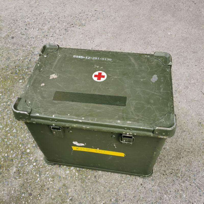 Zarges 軍箱 鋁箱 德國製 收納箱 儲物箱 / 折疊鋁箱 B