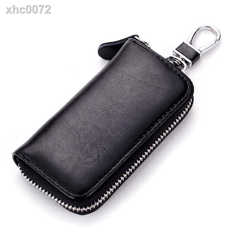 【現貨】۩✔真皮汽車鑰匙套大眾鑰匙包別克英朗h6多功能豐田皮夾ABNBY1135