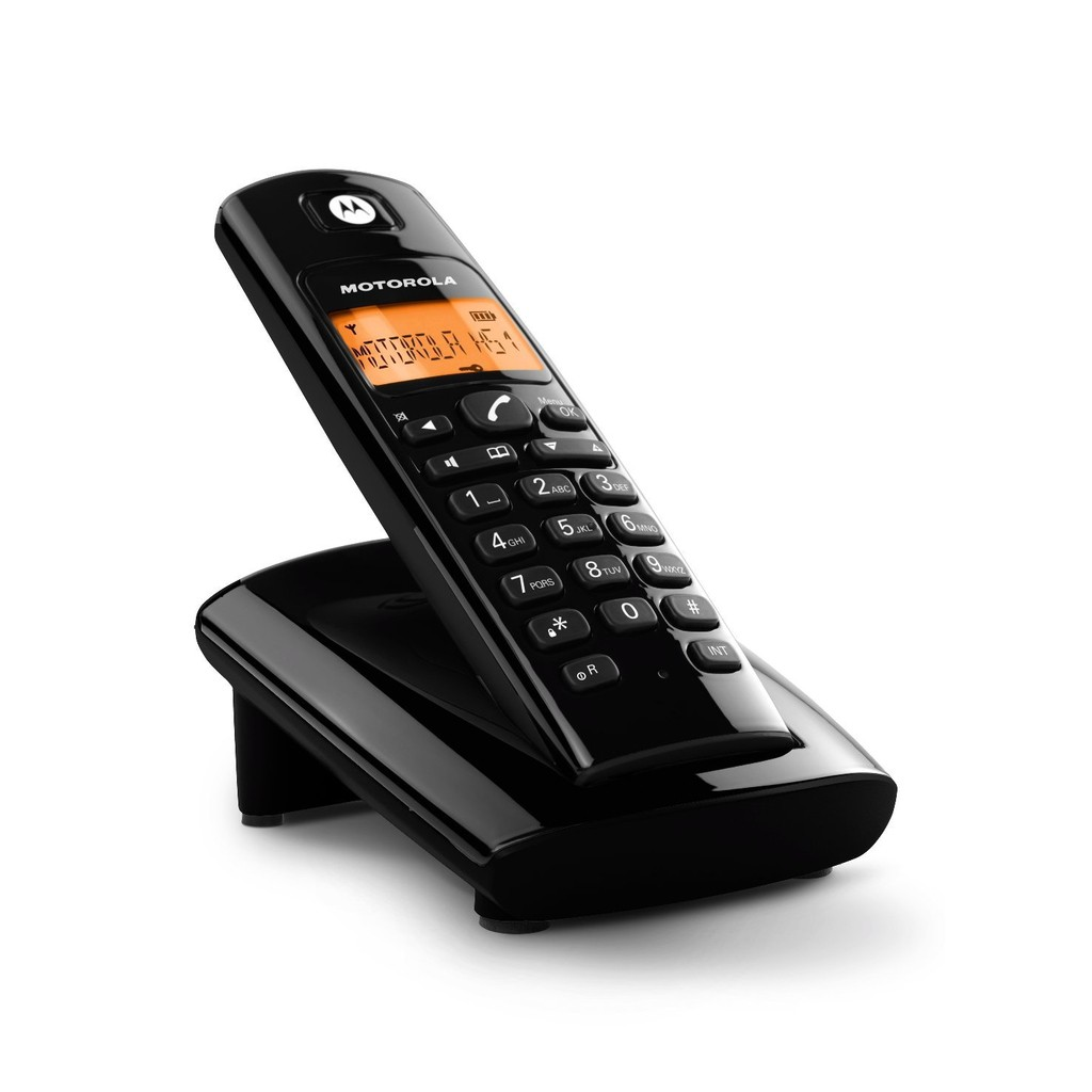 MOTOROLA 1.8G數位無線電話D101O  【大潤發】
