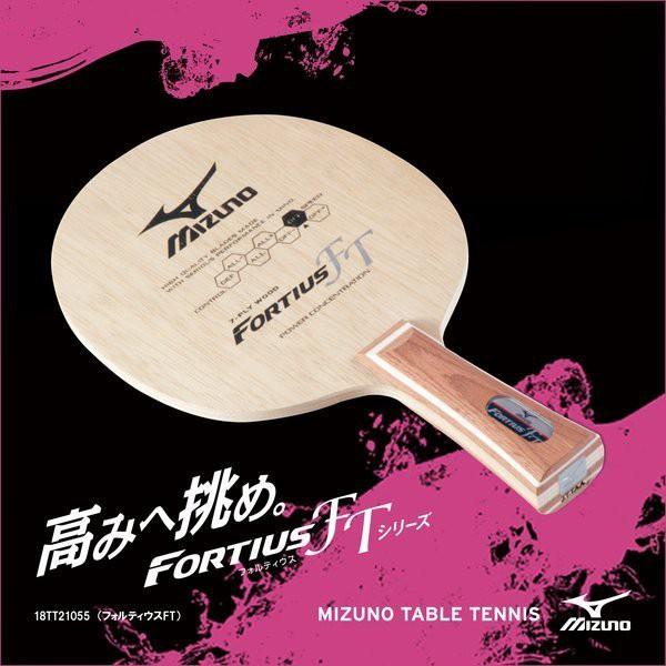 總統桌球(自取可刷國旅卡)美津濃 桌球拍 Mizuno FORTIUS FT 7枚合板 負手板 FL ST 兩種柄可選