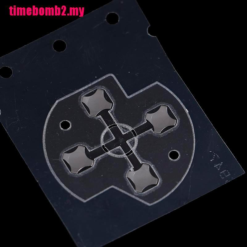 Xbox one 的 Hlh 控制器替換 d-pad 導電橡膠按鈕膜貼紙
