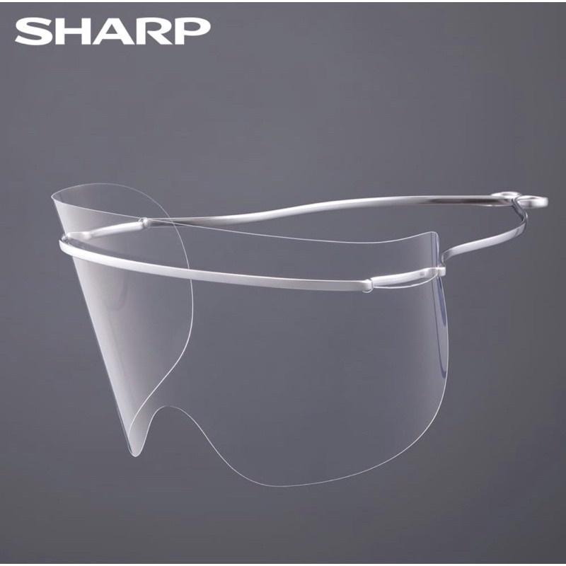 [全新品]預購SHARP夏普奈米蛾眼科技防護面罩/眼部專用