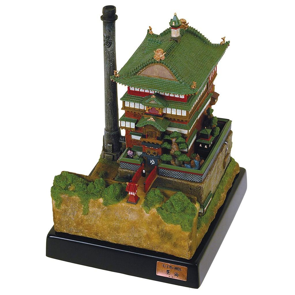 八田元氣小棧:(日版)全新未拆 吉卜力美術館 宮崎駿 神隱少女 湯屋 油屋 LED模型 限量珍藏版。