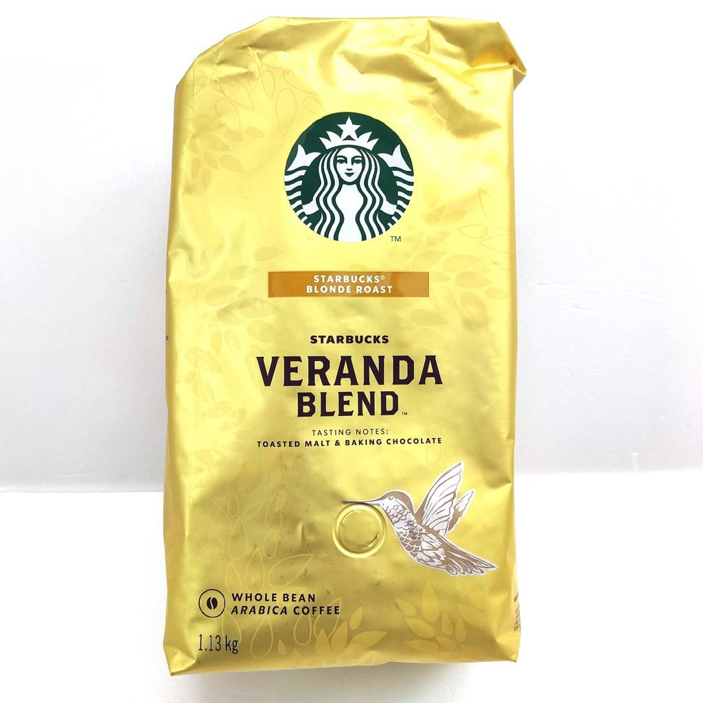 STARBUCKS VERANDA 黃金烘焙綜合咖啡豆 每包1.13公 C648080