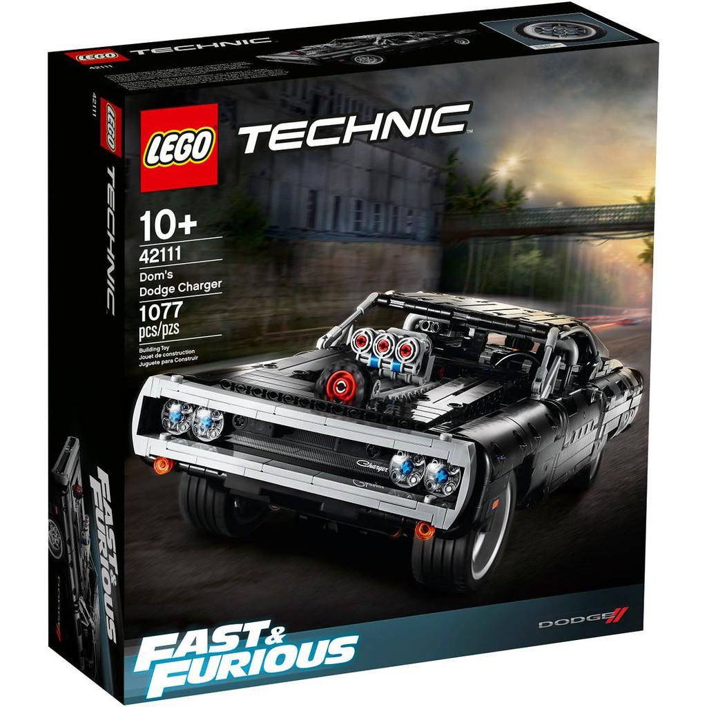 LEGO 樂高 42111 全新品未拆 科技系列 唐老大的道奇 Charger 玩命關頭