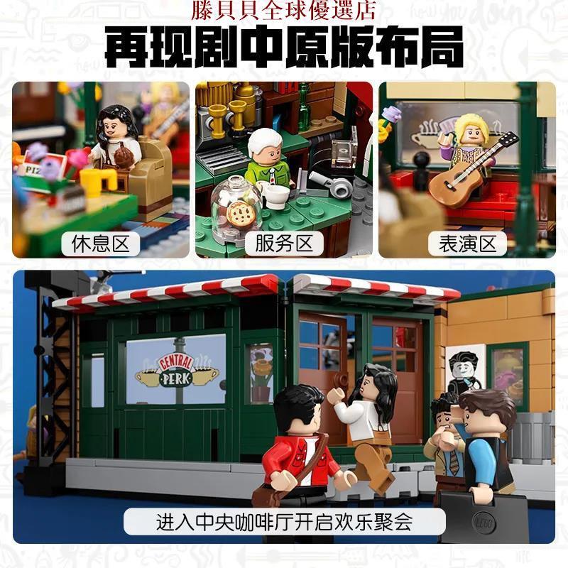 樂高 LEGO 21319 全新未拆 IDEAS 六人行盒 無標