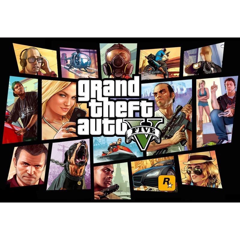GTA5 俠盜獵車手5  刷等級遊戲幣1000萬=100元 PC版 steam