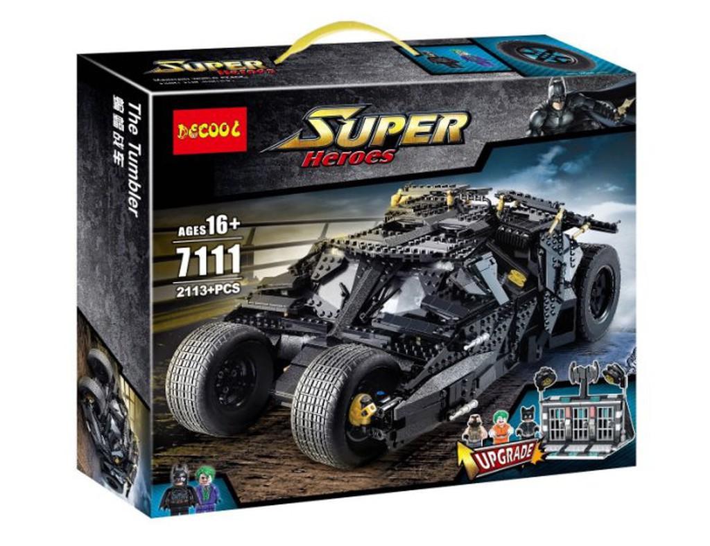 現貨-積思 得高 升級版 7111 96071 超級英雄系列蝙蝠俠戰車/相容樂高 76023 76239