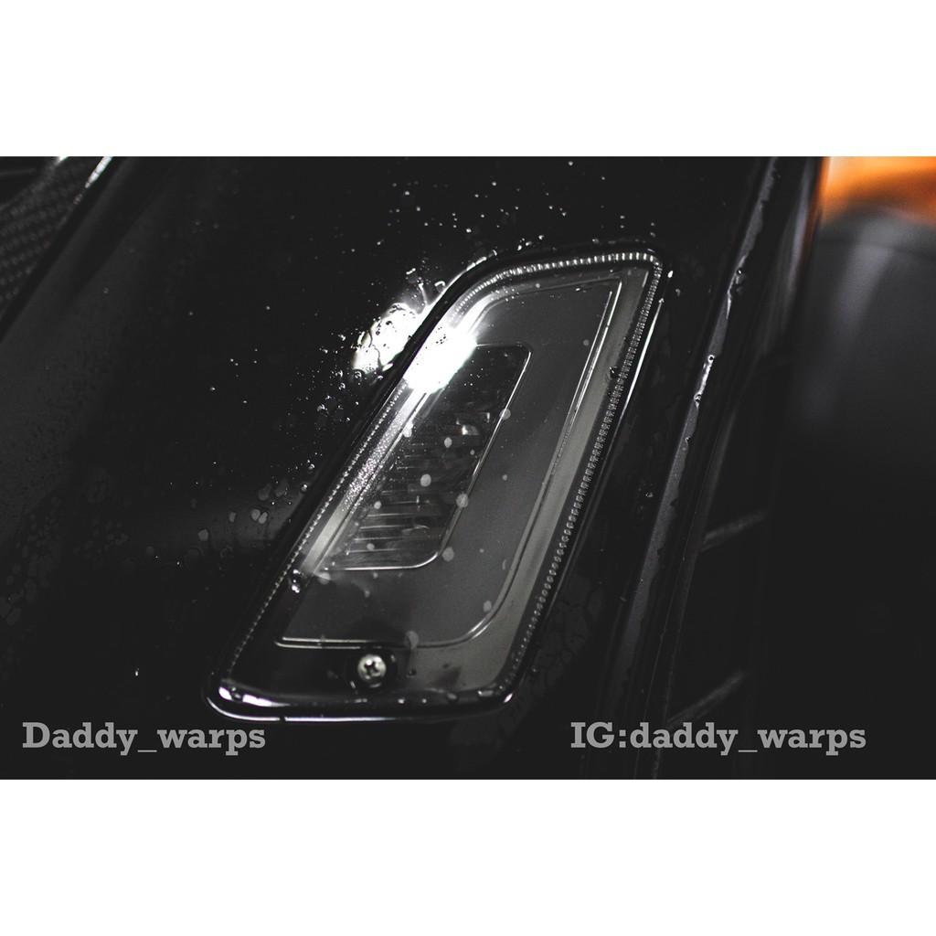 [老爸包膜店]偉士牌 VESPA GTS300 前方向燈保護膜(一對 黑化改裝抗刮 抗UV 抗霧化 改色 燈膜 TPU